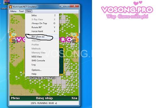Vào game bật menu auto bằng phím # (đã cài đặt rùi nhé